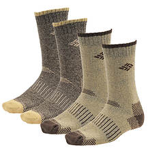 Columbia Moisture Control Thermal Crew Socks 4 pack (Men's)