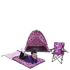 Play Tent, Sleeping Bag & Chair