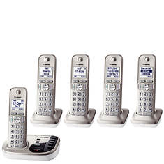 Panasonic Base Unit + 4 Handset Cordless Answering System