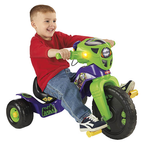 Fisher Price Teenage Mutant Ninja Turtles Lights & Sounds Trike
