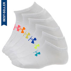 Under Armour Liner No-Show Socks 6-Pack