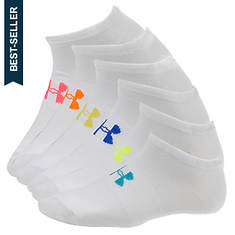 Under Armour Liner No Show Socks 6-pack