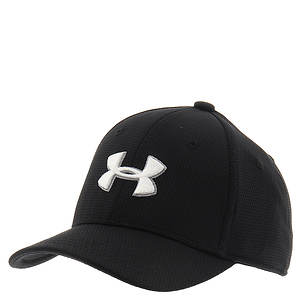 Under Armour Boys' Blitzing 2.0 Stretch Fit Cap