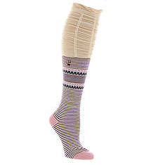 BEARPAW Women's Scrunch Top Knee High Socks