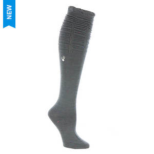 BEARPAW Women's Scrunch Top Knee High Socks