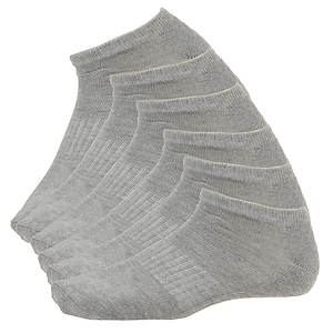 Steve Madden Women's SM29167 6-Pack Athletic Low Cut Socks