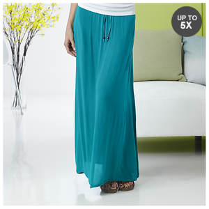 Gauze Crinkle Skirt