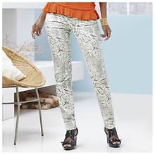 Animal Print Jeans