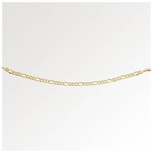 10K Gold Figaro Wrist or Ankle Bracelet