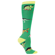 Sock It To Me Women's Santa Rex Knee High Socks