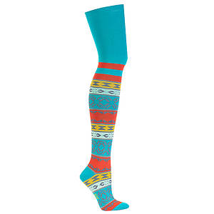 Sock It To Me Women's Sunrise Over The Knee Socks