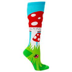 Sock It To Me Women's Toadstool Knee High Socks