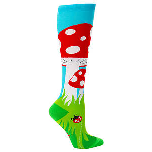 Sock It To Me Women's Toadstool Knee High Socks
