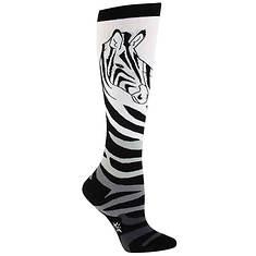 Sock It To Me Women's Zebra Knee High Socks