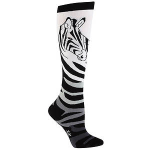 Sock It To Me Women's Zebra Knee High Socks
