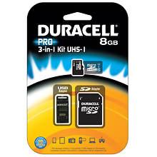Duracell 8GB MicroSD/SD Card Kit
