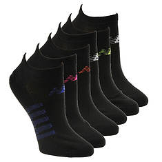 New Balance Women's 6-Pack NO32 No Show 6 Socks