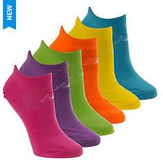 New Balance Girls' 6-Pack N850 No Show Socks