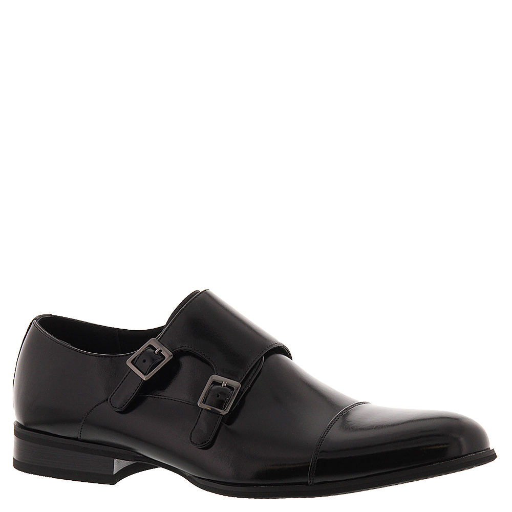 60s Mens Shoes | 70s Mens shoes – Platforms, Boots Stacy Adams Gordon Mens Black Slip On 8 M $69.95 AT vintagedancer.com