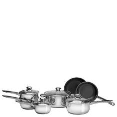 Ragalta™ 11-Piece Stainess Steel Cookware Set With Bonus Knife Set