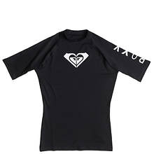 Roxy Misses Whole Hearted SS Rashguard