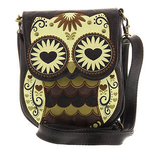 Loungefly Mini Brown Owl Crossbody Bag