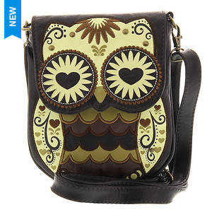 Loungefly Mini Brown Owl Crossbody Bag