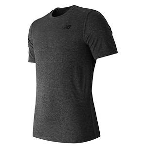 New Balance Short Sleeve Heathered Tech Tee Shirt (men's)