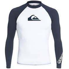 Quiksilver Men's All Time LS Rash Guard Shirt
