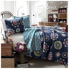 Adrianne 3-Piece Cotton Quilt Set