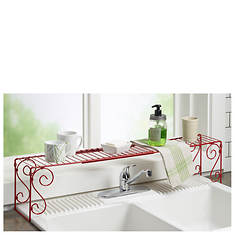 Expandable Over-Sink Shelf