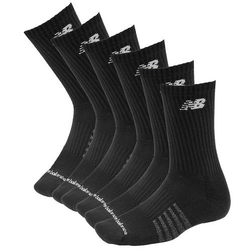 New Balance N5050-801-6 Crew Socks 6-pack