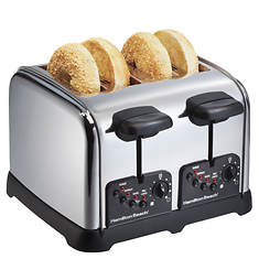 Hamilton Beach Classic Chrome 4-Slice Toaster