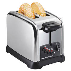 Hamilton Beach Classic Chrome 2-Slice Toaster