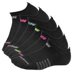New Balance N5010-362-6 No Show Socks 6-pack (women's)