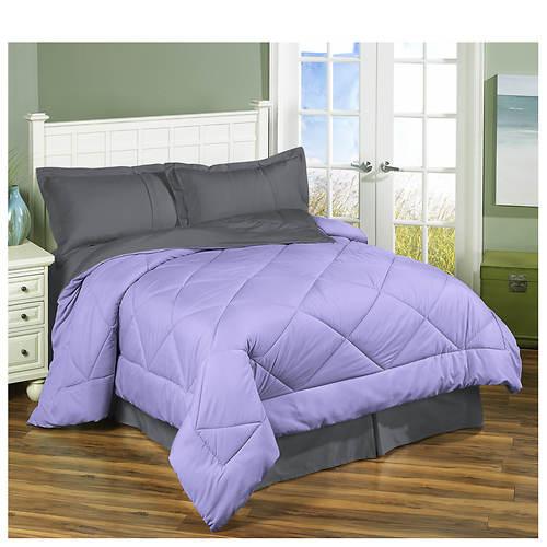 3-Piece Reversible Down Alternative Comforter Set