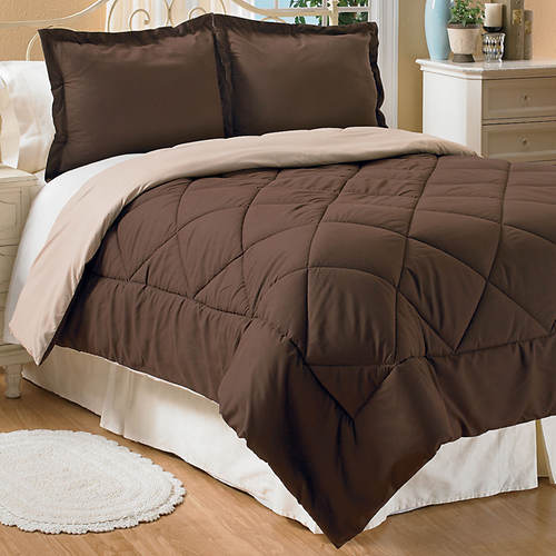 3-Piece Reversible Down Alternative Comforter Set