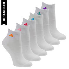 adidas Athletic 6-Pack Quarter Socks (women's)