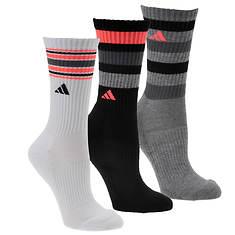 adidas Retro II 3-pack Crew Socks (women's)