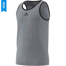 adidas Men's Heathered Tank Polyester