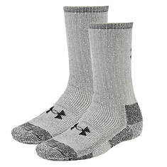 Under Armour Two Pair Boot Crew Socks (men's)