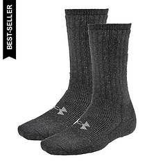 Under Armour Two Pair Boot Crew Socks (men's)