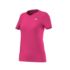 Adidas Women's Ultimate Short Sleeve V-Neck Tee