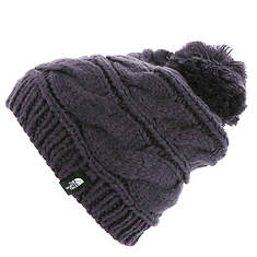 The North Face Triple Cable Pom Beanie (women's)