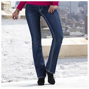 Embellished Zebra Jeans