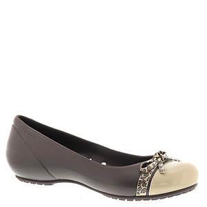 Crocs™ Cap Toe Bow Flat (Women's)
