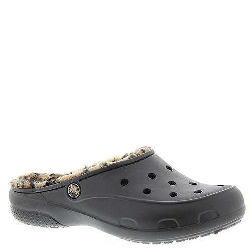 Crocs™ Freesail Leopard Lined Clog (Women's)