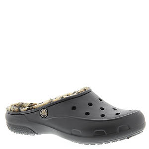 Crocs™ Freesail Leopard Lined Clog (Women's)