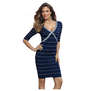 Banded Sweater Dress