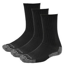 Carhartt Men's All Season 3-Pack Cotton Crew Socks